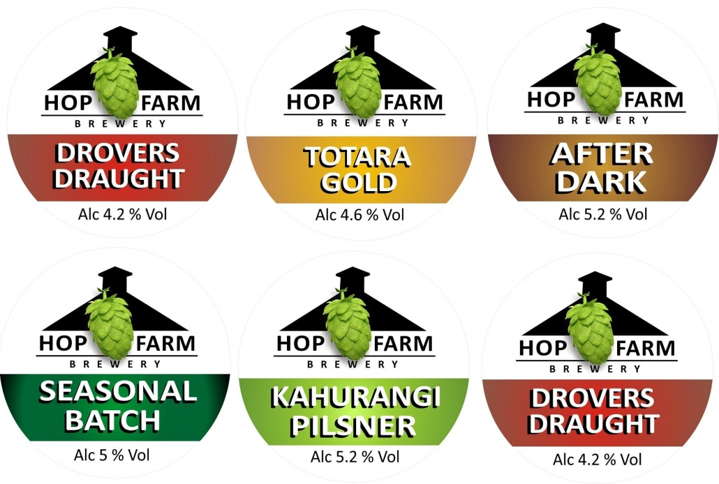 Craft Beer Hop Farm Brewery Nelson NZ