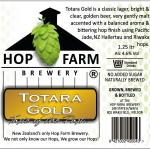 Totora Gold NZ Craft Beer Hop Farm Brewery Nelson
