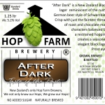 New Zealand Craft Beer After Dark Black Lager